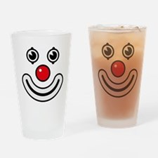 Clown / Payaso / Bouffon / Buffone Drinking Glass