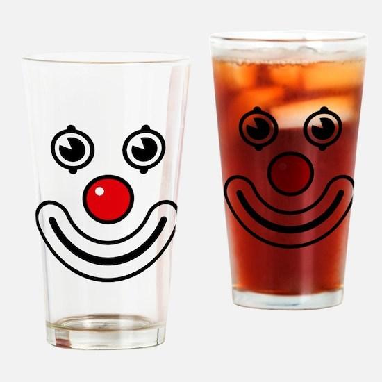 Clown / Payaso / Bouffon / Buffone Drinking Glass