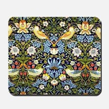 William Morris design - Strawberry Thief Mousepad