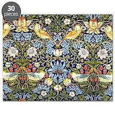 William Morris design - Strawberry Thief Puzzle