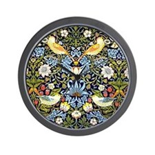 William Morris design - Strawberry Thie Wall Clock