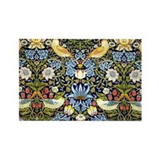 William Morris design - Strawberr Rectangle Magnet