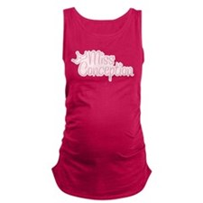 Pink Miss Conception Maternity Tank Top