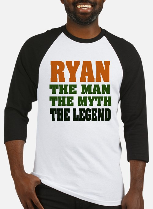 RYAN - the legend! Baseball Jersey