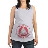 Buddha belly Maternity Tank Top