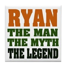 RYAN - the legend! Tile Coaster