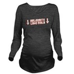 Celebrity Love Child Long Sleeve Maternity T-Shirt