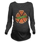 Gimme Pizza Long Sleeve Maternity T-Shirt
