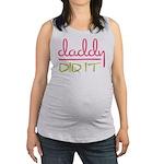Daddy Did It Maternity Tank Top