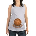Basketball Smuggler Maternity Tank Top