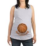 Basketball Smuggler Maternity Tank Top
