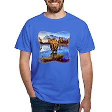 Mt Shuksan Moose T-Shirt