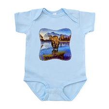 Mt Shuksan Moose Infant Bodysuit