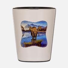 Mt Shuksan Moose Shot Glass