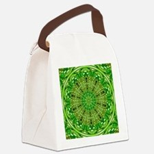 Ripple Effect (Green) Canvas Lunch Bag