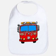 Fire Engine Bib