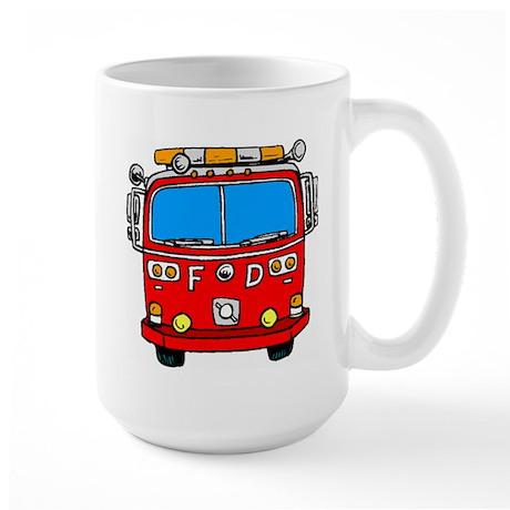 Fire Engine Large Mug