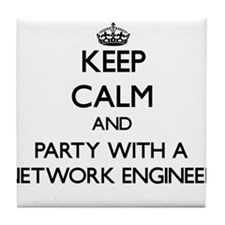 Keep Calm and Party With a Network Engineer Tile C