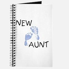 New Aunt (blue) Journal