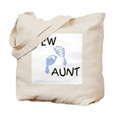New Aunt (blue) Tote Bag