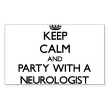 Keep Calm and Party With a Neurologist Decal