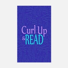 Curl Up and Read Decal