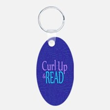 Curl Up and Read Keychains