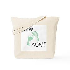 New Aunt (green) Tote Bag