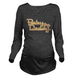 Baby by Daddy Long Sleeve Maternity T-Shirt