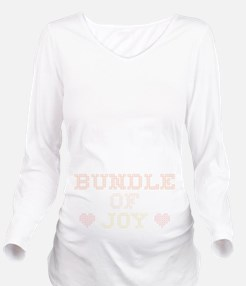 Bundle of Joy Long Sleeve Maternity T-Shirt