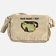 Custom Scuba Mask Messenger Bag