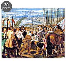 Velazquez: The Surrender of Breda Puzzle