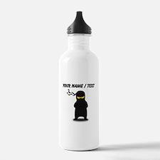 Custom Ninja Water Bottle
