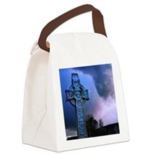 Celtic Blue Canvas Lunch Bag