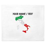 Italian flag Luxe King Duvet Cover