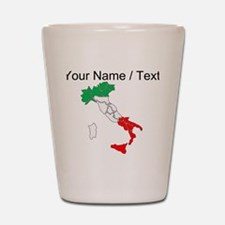 Custom Italy Shot Glass