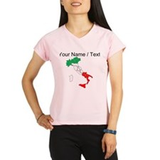 Custom Italy Performance Dry T-Shirt