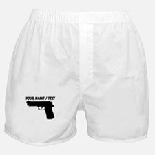 Custom Gun Silhouette Boxer Shorts