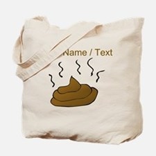 Custom Poop Tote Bag