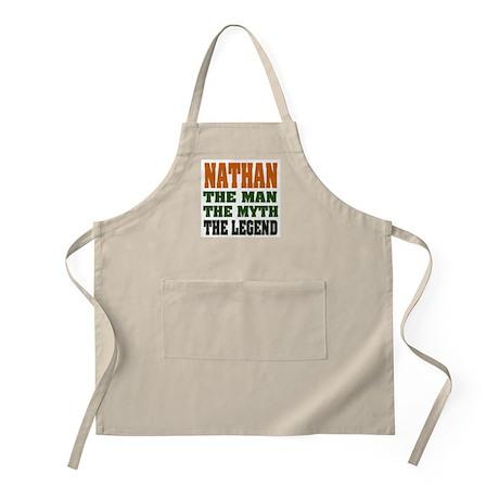 NATHAN - the legend! BBQ Apron