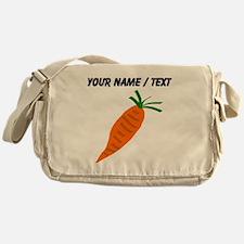 Custom Carrot Messenger Bag