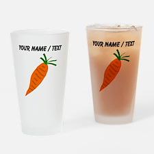 Custom Carrot Drinking Glass