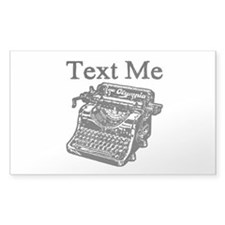 Text Me-Typewriter-1 Decal
