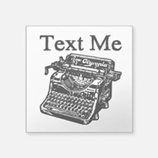 Text Me-Typewriter-1 Sticker