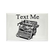 Text Me-Typewriter-1 Magnets