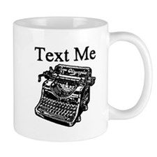 Text Me-Typewriter-1 Mugs