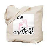 Great grandchild Canvas Totes