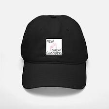 New Great Grandma (pink) Baseball Hat