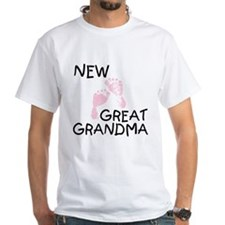 New Great Grandma (pink) Shirt