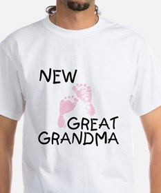New Great Grandma (pink) Shirt